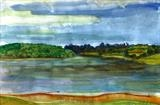 Bewl Waters by Donna Southern Art, Painting, Watercolour on Paper