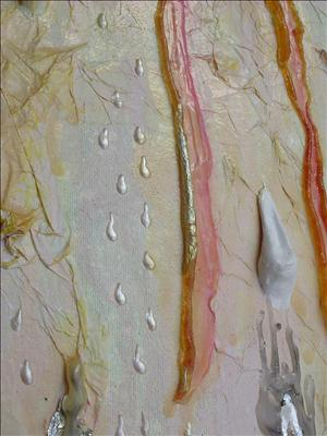 Pearl.  Tears of God.  Detail: Drops by Donna Southern, Giclee Print